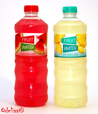 חדש על המדף – Fruit Water, משקה בטעמי פירות