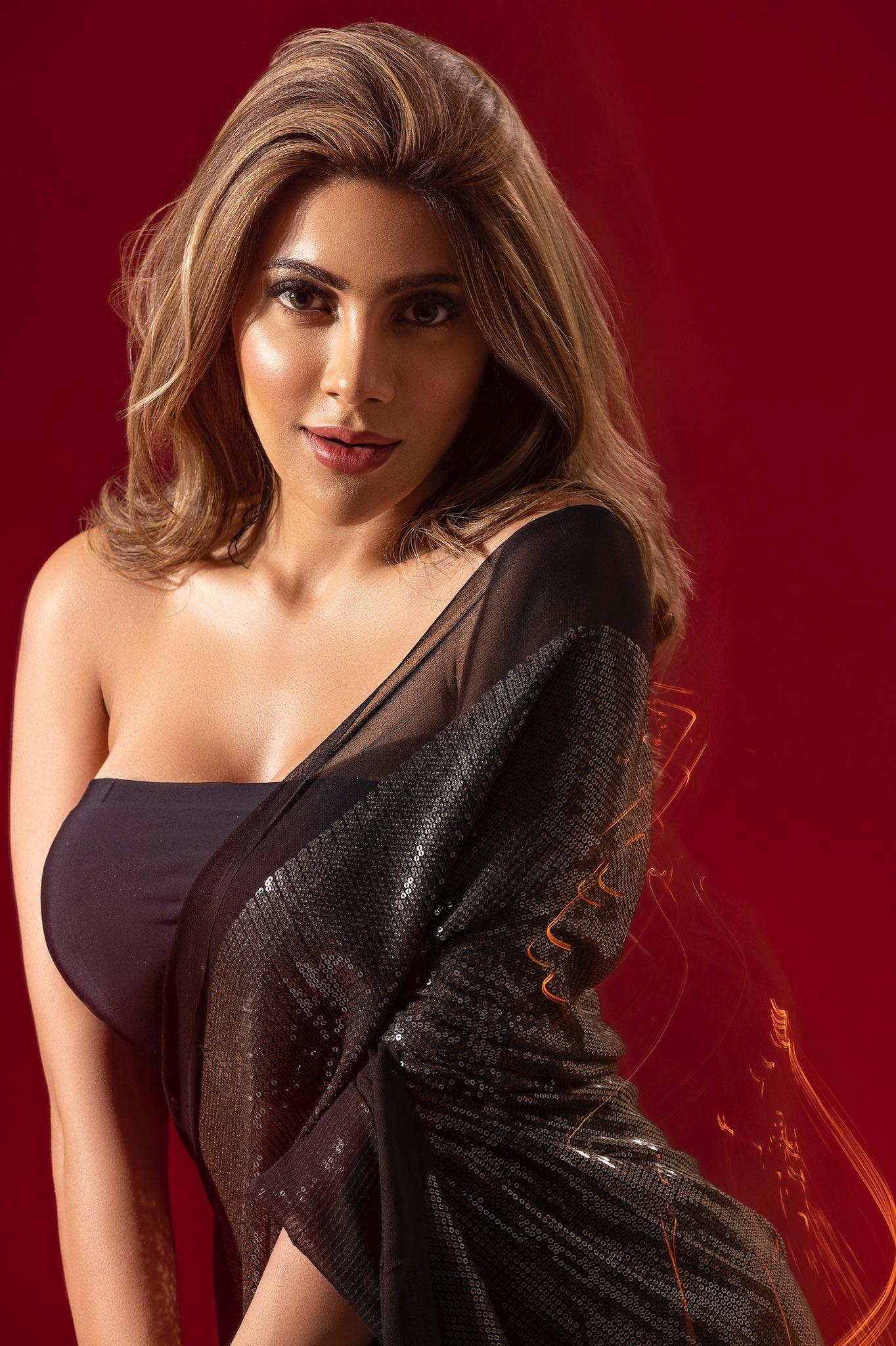 Nikki Tamboli Hot Photos Stills From Fablook Magazine