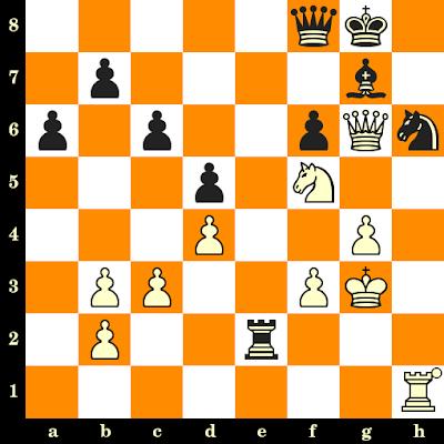Les Blancs jouent et matent en 3 coups - Andrew Soltis vs Miguel Quinteros, Lone Pine, 1979