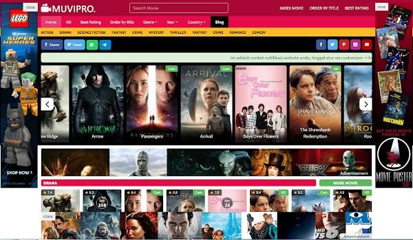 Update 2.1.0 Muvipro Movie WordPress Theme