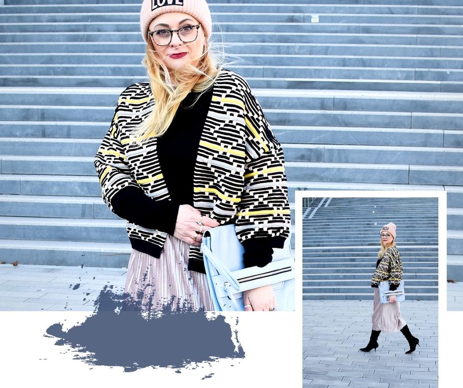 Wie kombiniere ich Overknees im Winter, Winter Outfit mit Overknees