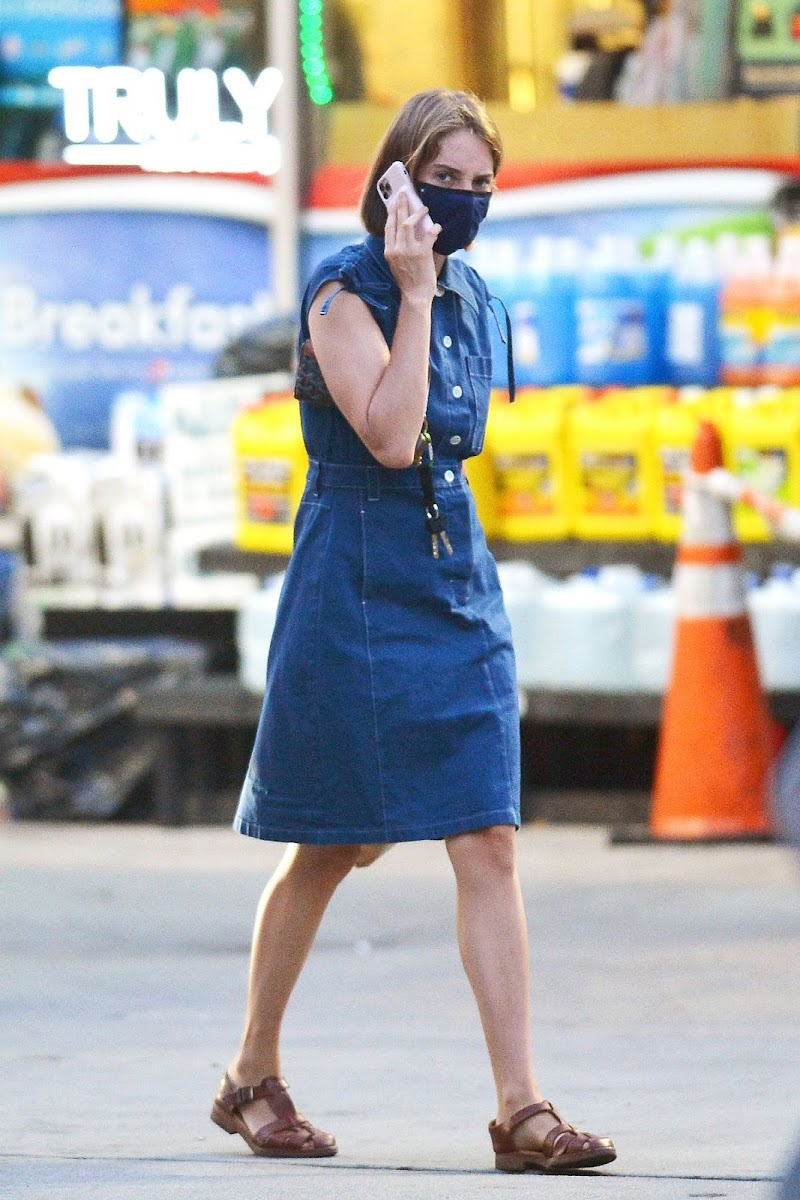 Maya Hawke Clicked Outside  in New York 29 Jul -2020