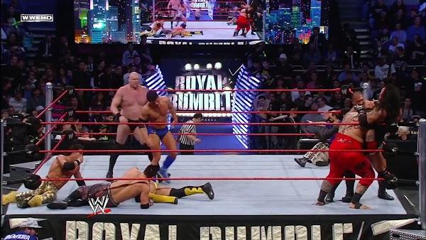 Repetición Wwe Royal Rumble 2008 En Español Completo