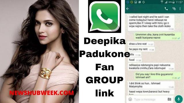 Join 10+ Deepika Padukone Fans WhatsApp Groups Links Latest