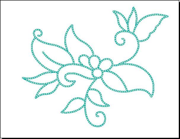 Teknik Membuat Batik Kontur Dot Anseries Design