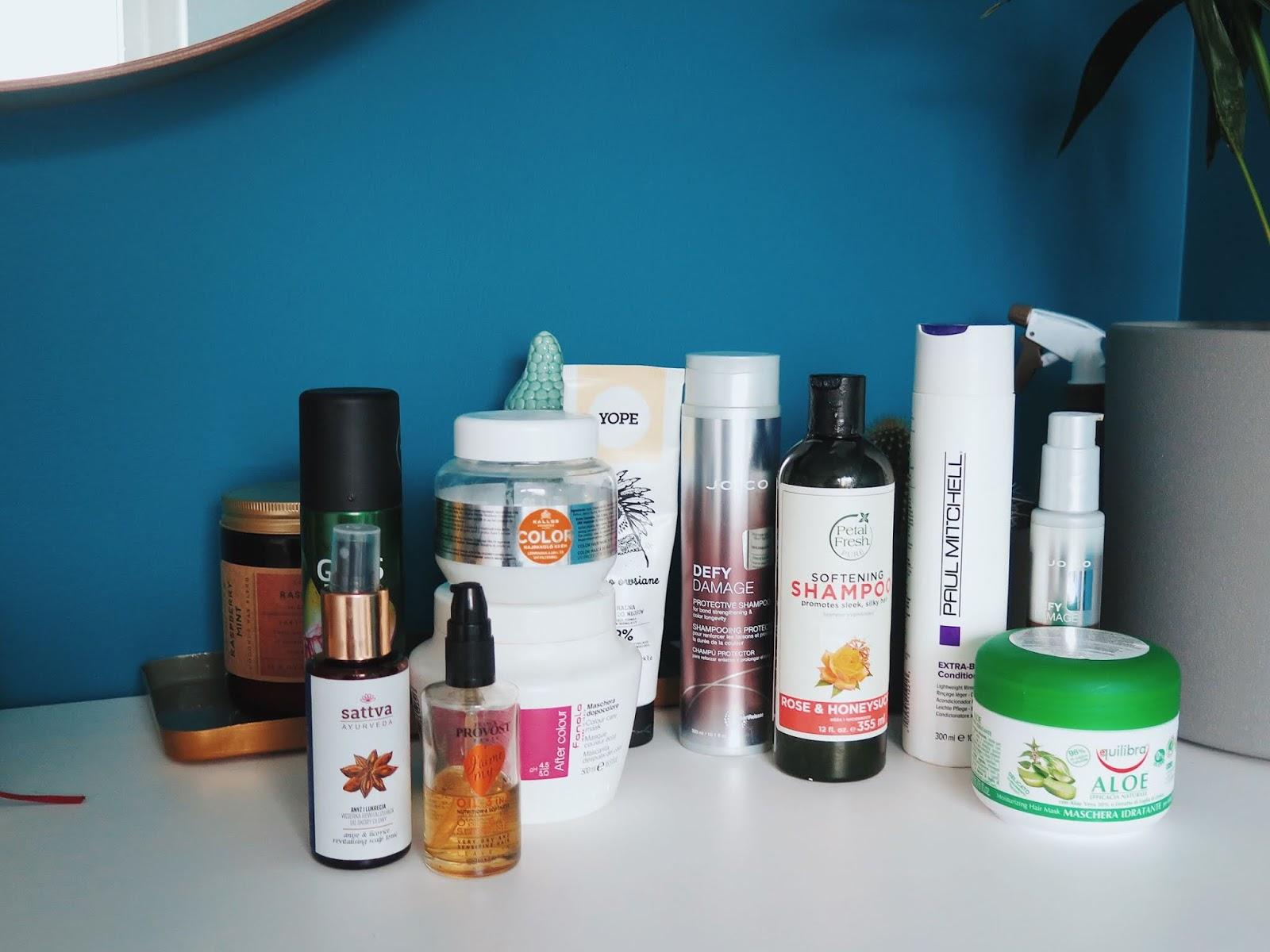 Dekoloryzacja i pielęgnacja włosów rozjaśnianych