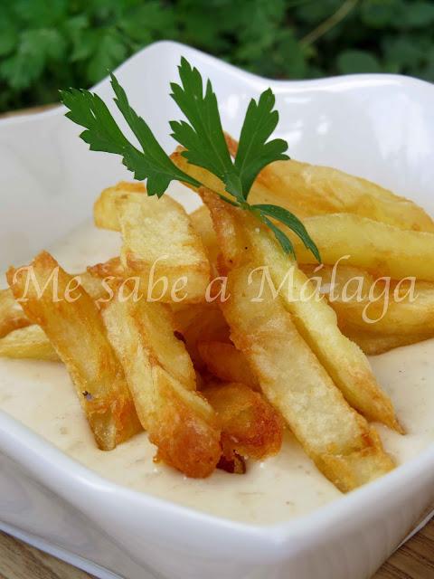 receta de porras blancas de Almogía Málaga