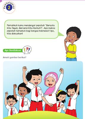 kunci jawaban tema 2 kelas 6 persatuan dalam perbedaan