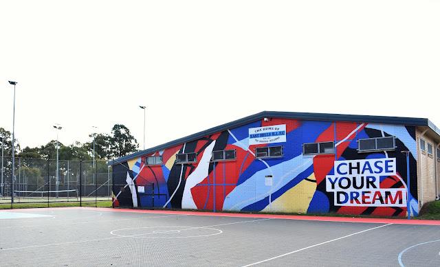 East Hills Street Art   Mural by Funskull