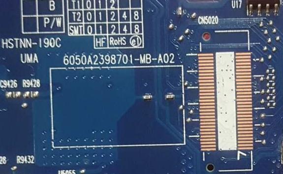 6050A2398701-MB-A02 UMA  CN17 HP ELITEBOOK 8460P Laptop Bios