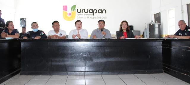 -Durante la sesión ordinaria del Consejo Intermunicipal Región Uruapan