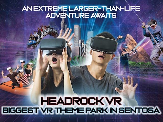 Singapore có gì vui: VR thực tế ảo đầu tiên tại Singapore
