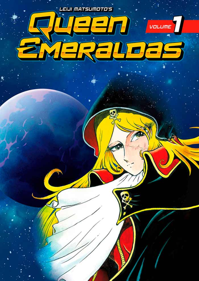 Queen Emeraldas manga - Leiji Matsumoto