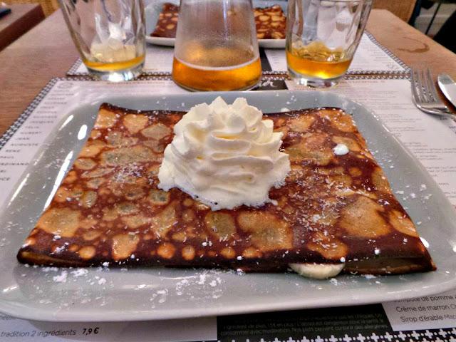 Restaurant crêpes l'atelier artisan crêpier Mabillon Paris crêperie cidre