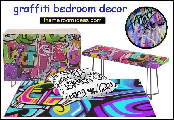 graffiti bedroom decor graffiti bedrooms grafitti furniture grafitti bedroom decorating