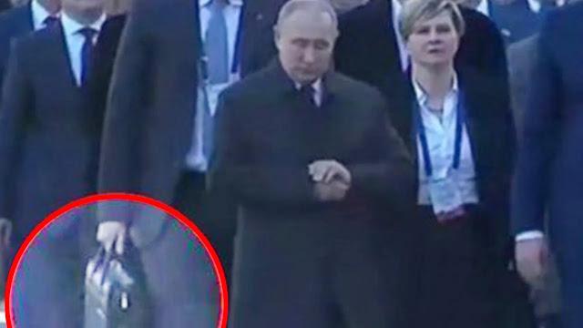Jubir: Vladimir Putin Selalu Bawa Tas Nuklir