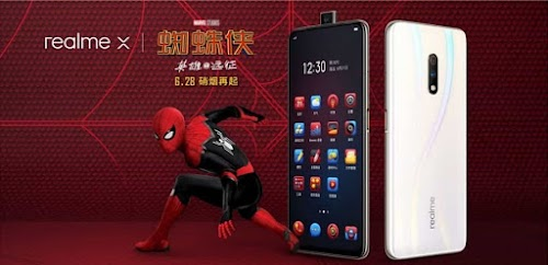Realme X Spiderman Special Edition launched:Here complete specs and price