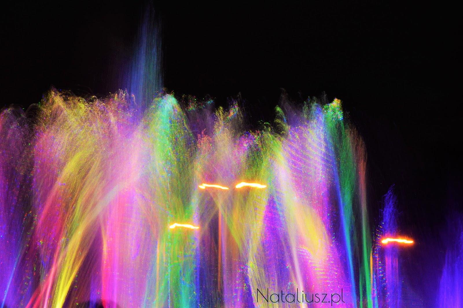 multimedialny pokaz fontann warszawa