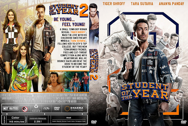 Student Of The Year 2 DVD Cover
