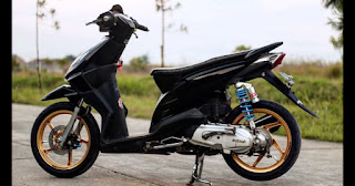 Modifikasi Motor Beat Babylook