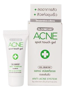 ยาแต้มสิว Dr.Somchai Acne Spot Touch Gel