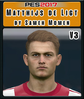 PES 2017 Faces Matthijs de Ligt by Sameh Momen
