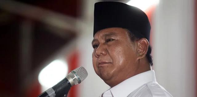 Prabowo Tidak Menuduh Siapa Elit Pemerintah Yang Korupsi