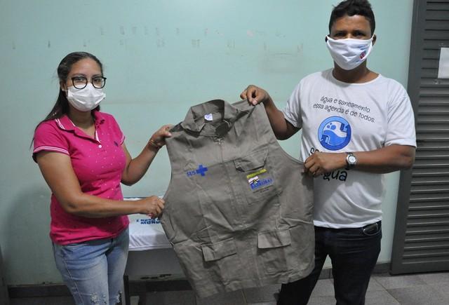 Agentes de endemias de Barreiras recebem novos kits de proteção individual