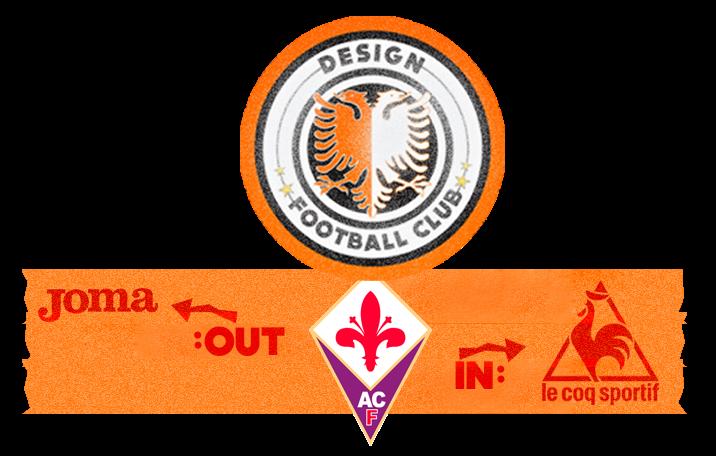 Design Football Club: Fiorentina veste Le Coq Sportif em 2015
