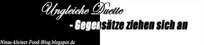 Blog-Event: Ungleiche Duette – Gegensätze ziehen sich an