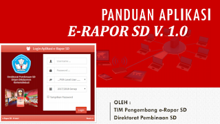 panduan aplikasi e rapor SD 2019