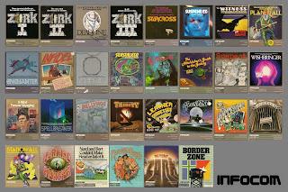 Colección de videojuegos de Infocom