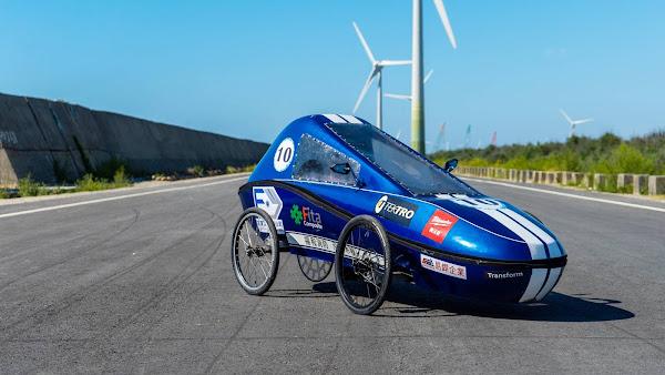 環保節能車大賽 大葉大學電動車勇奪二優等與節能設計獎
