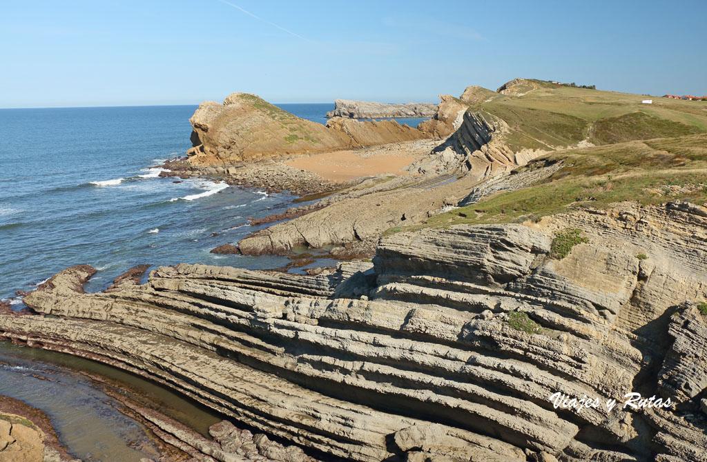 Playa de Pedruquías, Costa Quebrada de Cantabria