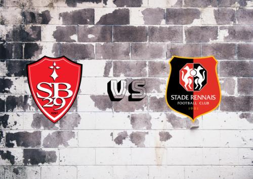 Brest vs Rennes  Resumen