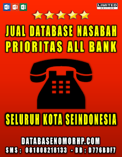 Jual Database Sales And Marketing