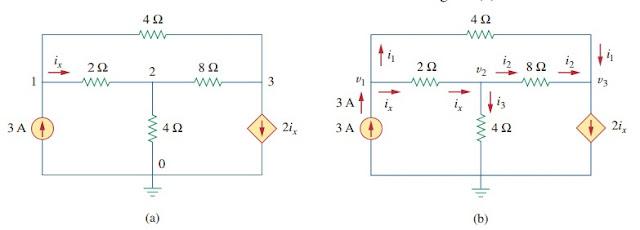 nodal analysis electric circuit