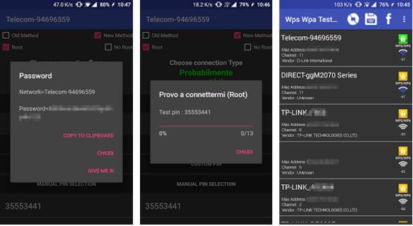 تطبيق WIFI WPS لاختراق شبكات الواي فاي