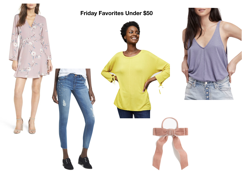 Styled in blue series friday favorites items under