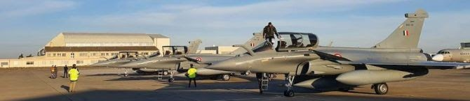 Fourth Batch of Three Rafale Fighter Jets Land In India