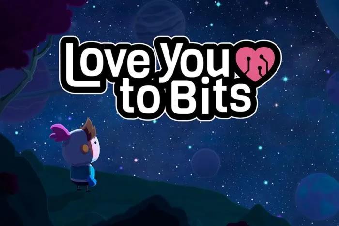 حول أحبك إلى بت Love You to Bits هو مجنون شغل لغز لطيف، والبصرية بحتة، وأشر وانقر، الخيال العلمي المغامرة التي تمتد في جميع أنحاء الكون