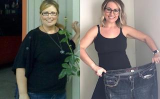 Η γυναίκα που άλλαξε 1 μόνο πράγμα στην διατροφή της και έχασε 42 κιλά
