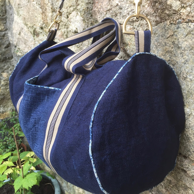 barrel bag with piping instructions