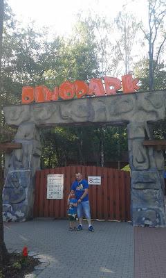 Park Ruchomych Dinozaurów w Malborku. O mały włos nie wylądowałam na Pogotowiu.