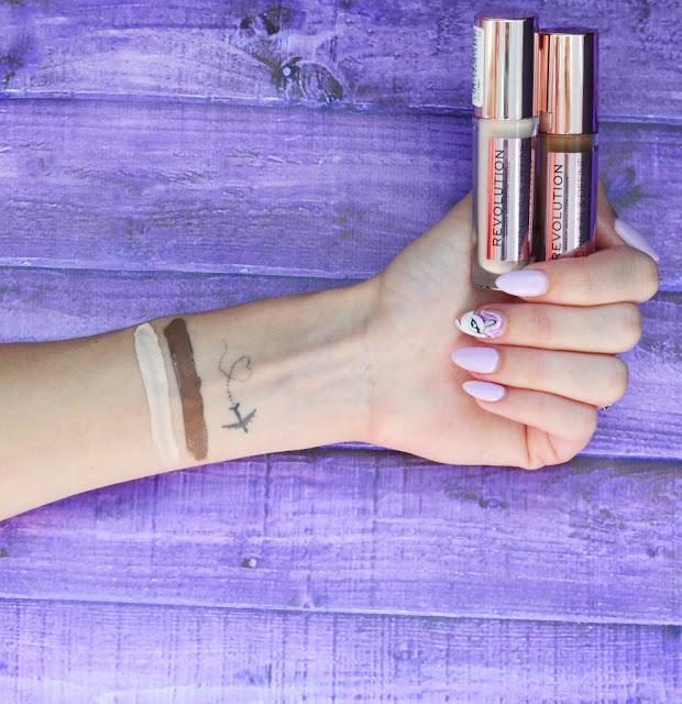Makeup Revolution Conceal & Define C3, C14 бюджетный аналог Tarte Shape Tape Contour Concealer кремовый контуринг, самый стойкий кроющий консилер