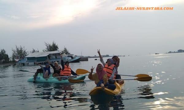 paket wisata private trip pulau harapan 3 hari 2 malam kepulauan seribu utara