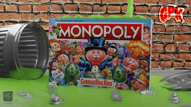 Garbage Pail Kids Makes Monopoly Grosser Than Ever!