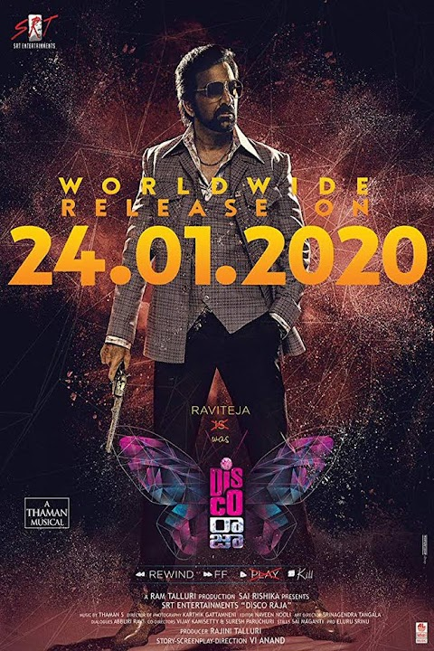 Disco Raja (2020) Full Movie Download Telugu WEB-DL HEVC 200MB 480p 400mb 720p 900mb | GDrive