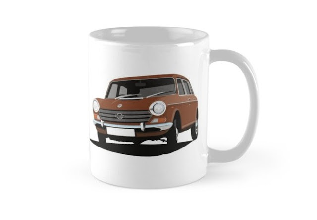 Morris 1800 2200 car coffee mug