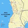 Peta Kuta Legian Bali